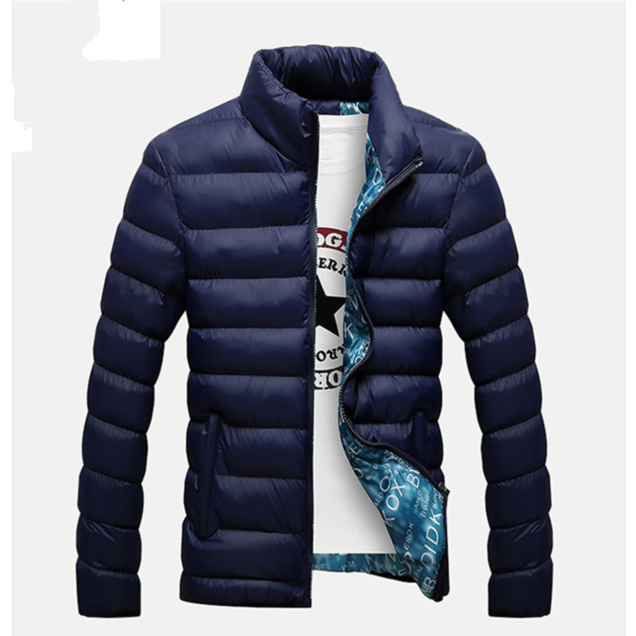 fef4b7f85b0 ... 2018New Jackets Parka Men Hot Sale Quality Autumn Winter Warm Outwear  Brand Slim Mens Coats Casual ...