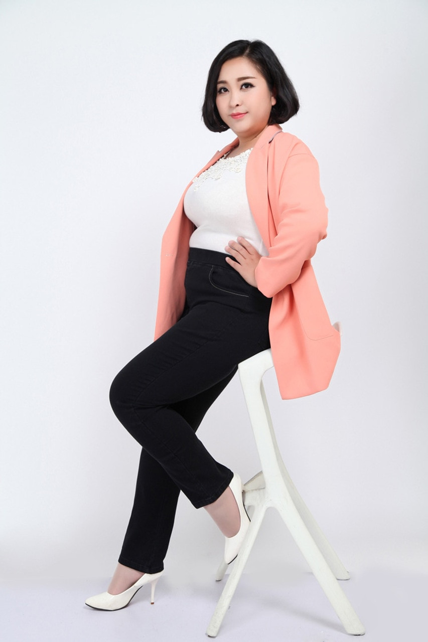 ... TUHAO 2018 spring High Waist Denim Pants Jeans For Women large size 8XL  7XL 6XL 5XL ... f93b3a89b6ec