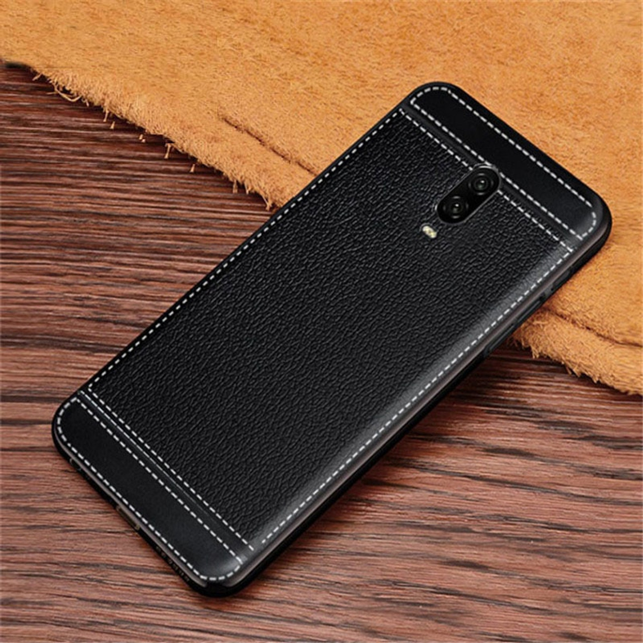 f2e30b73ec4 Oneplus 6 Case Oneplus 6 Litchi Texture Soft TPU Phone Case Oneplus 6 1+6T One  Plus 6T Oneplus6T Case Silicone 6.28 inch - OnshopDeals.Com