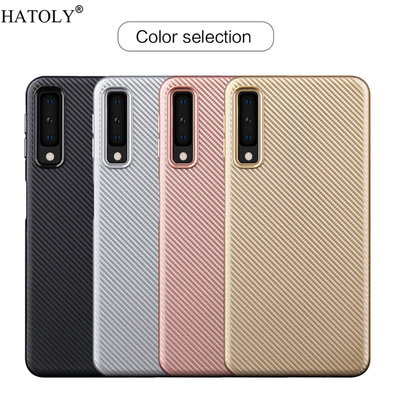 sFor Phone Case Samsung Galaxy A7 2018 Case Rubber Armor Phone Cover For  Samsung A7 2018 Case For Samsung Galaxy A7 2018 A750