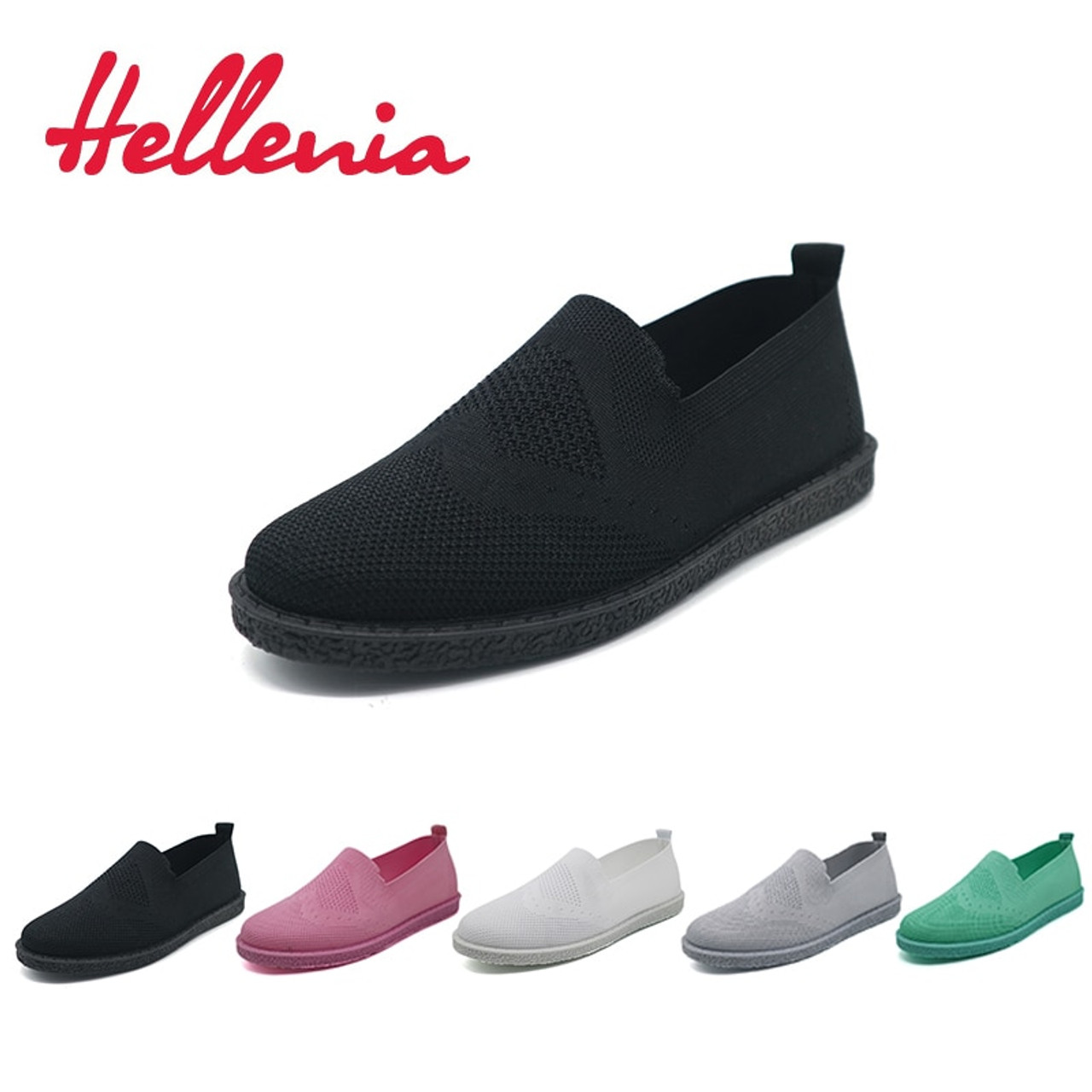 3dc5177fd18 Hellenia New Fashion Women Casual Shoes Slip On Summer Woven Loafers Women s  Flats Breathable Comfort Ladies ...
