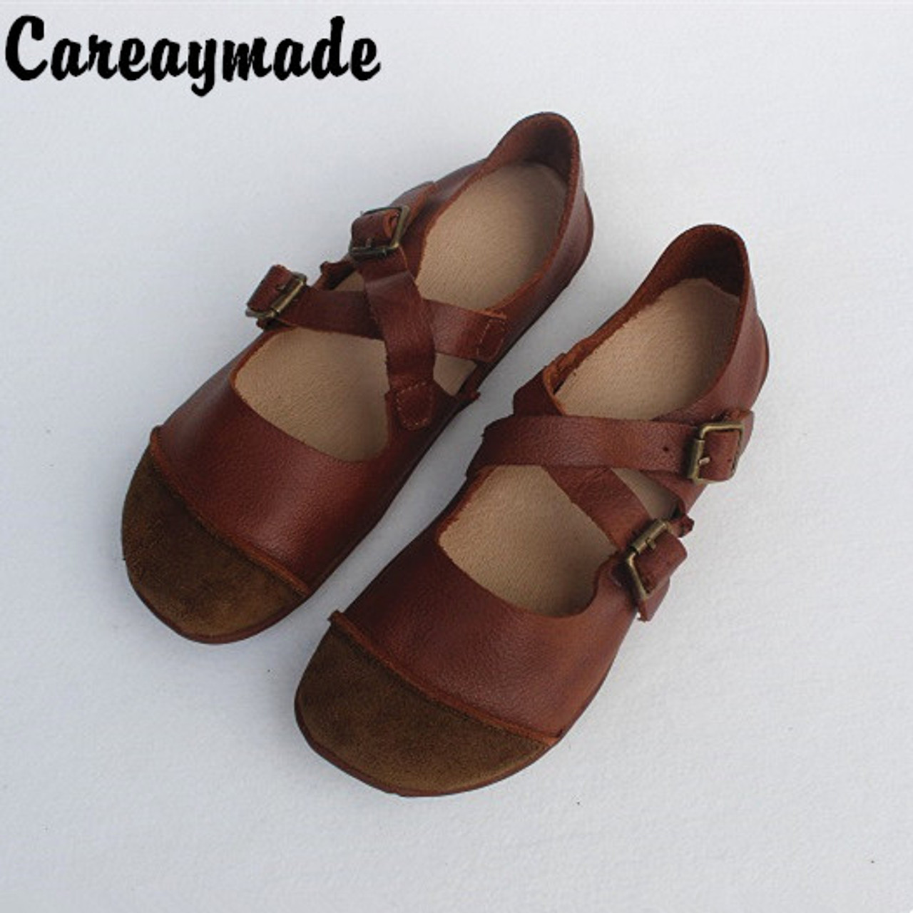 Careaymade-Spring real leather, pure