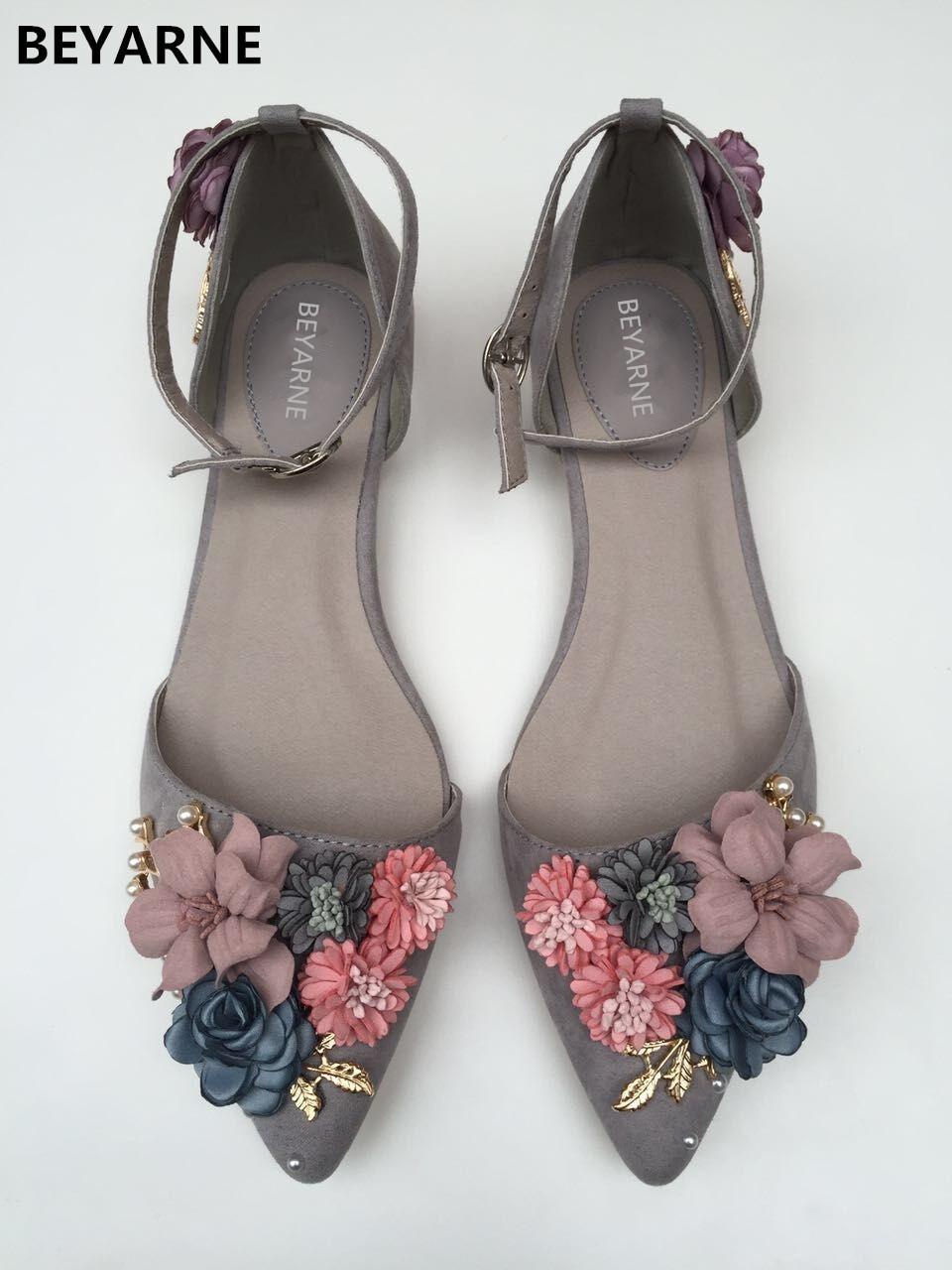 BEYARNE New Fashion women flat shoes