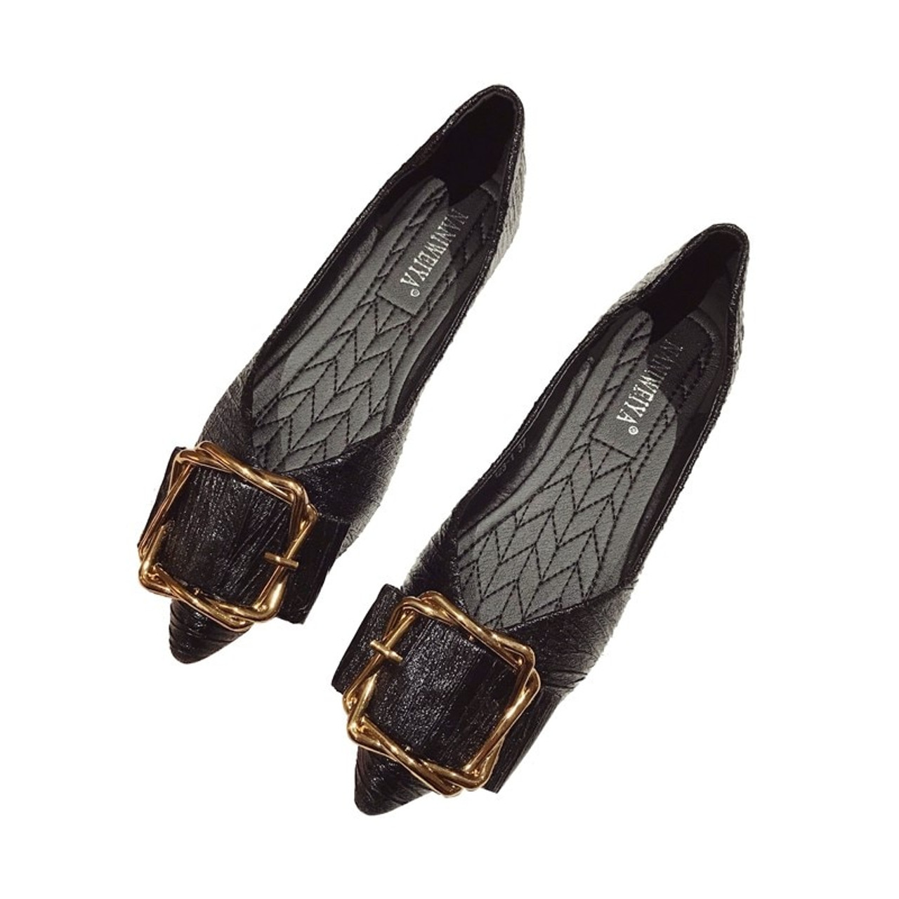 05b687f9b46 ... designer shoes women luxury 2018 flat shoes woman flats loafers women shoes  black gold red slip ...