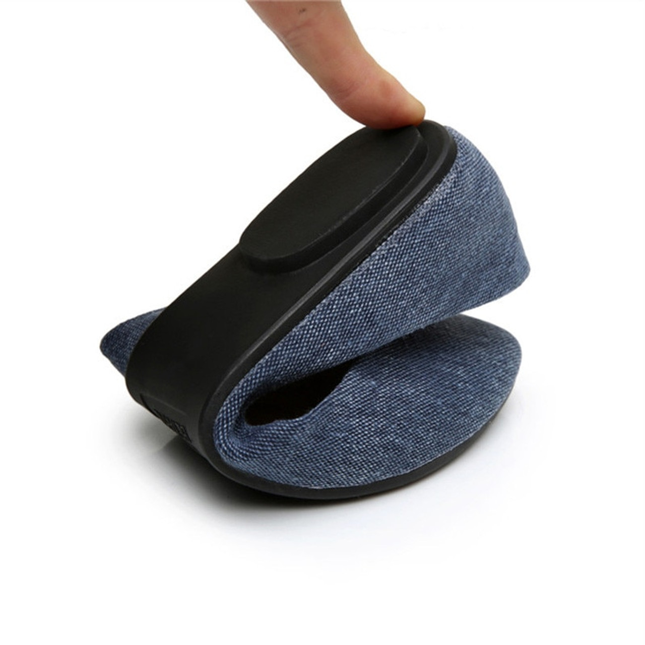 ... TIMETANG New Women Soft Denim Flats Blue Fashion High Quality Basic  Pointy Toe Ballerina Ballet Flat ... f4cb70e72d5c