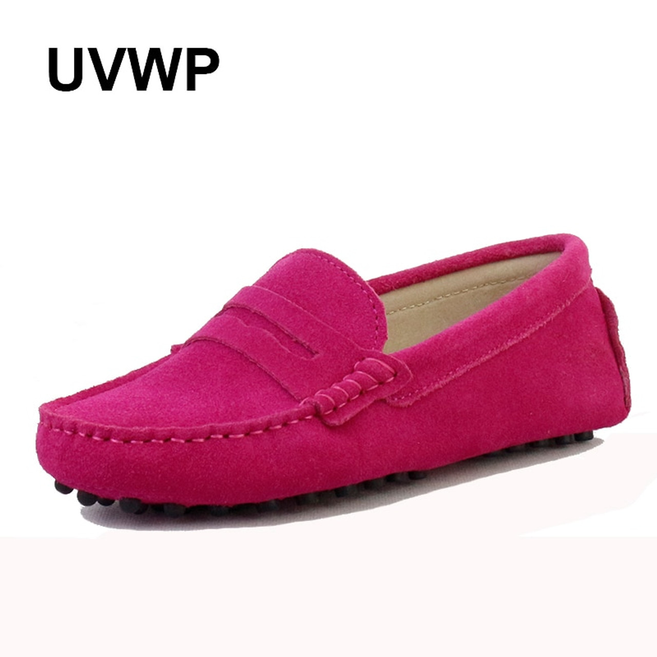 Genuine Leather Women Flat Shoes Casual