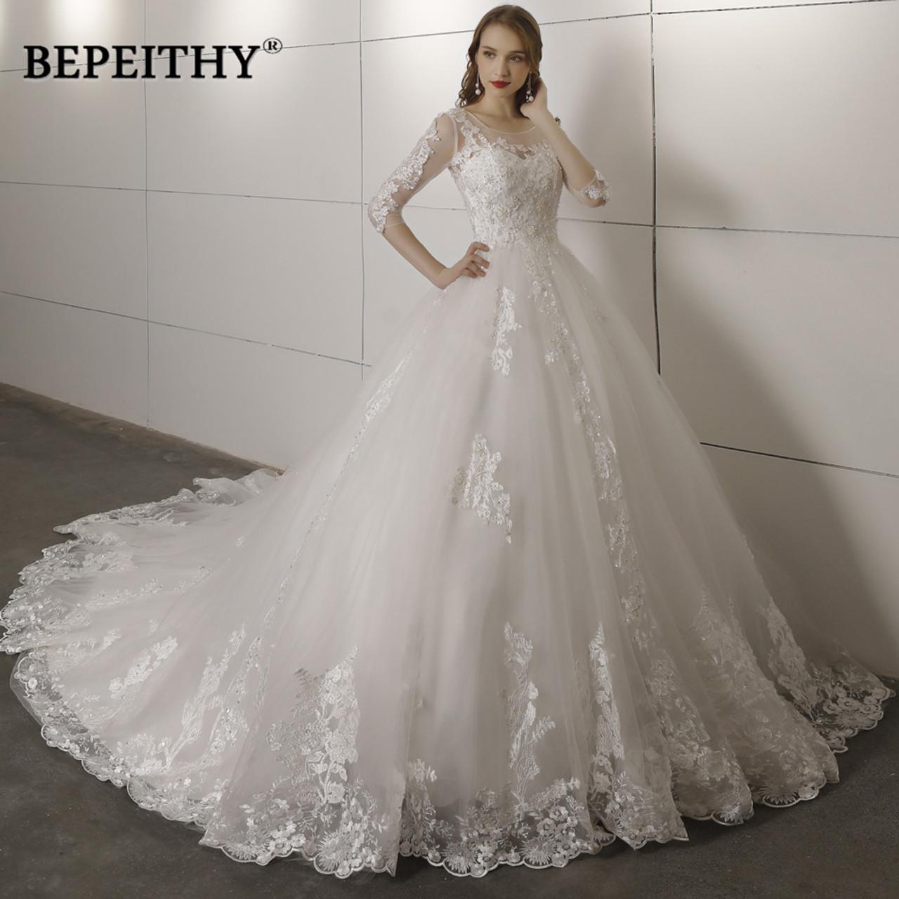 3f5451e54e Vintage Wedding Dresses 2018