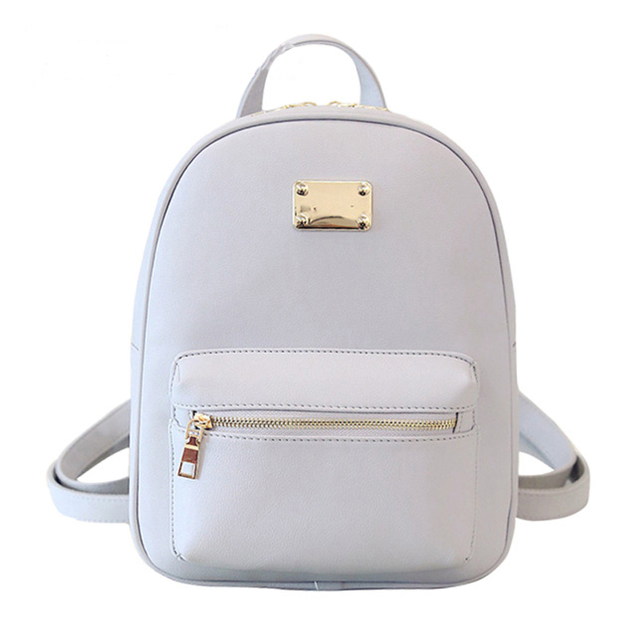 3999e5813039 Women Backpack Small Size Black PU Leather Women s Backpacks Fashion School  Girls Bags Female Back Pack Famous Brand mochilas - OnshopDeals.Com