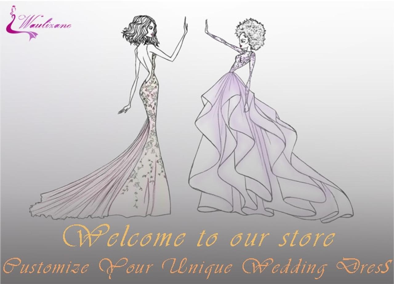 5af1b3ec5a92d Waulizane' Custom Made Ball Gown Dress Link Customer choosed Dress Link Fee  Contact Us Before Buying