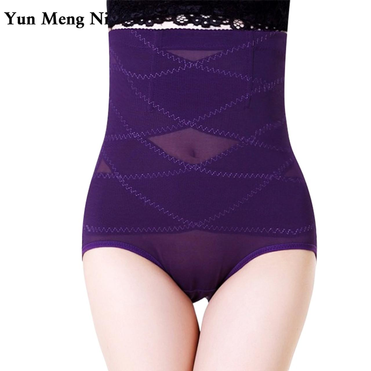 48e0cb7ea Hot Sale S-4XL Plus Size Slimming High Waist Abdomen Control Underwear  Women Shapewear Clothing ...