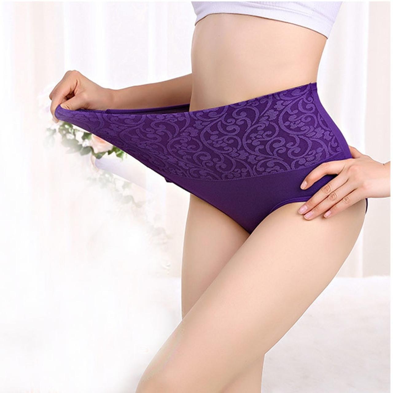 309a6b8aa962 ... Cotton Underwear Women Panties High Waist Briefs Sexy Panties Cueca  Calcinhas Shorts Transparent Underpants Abdominal Panty ...