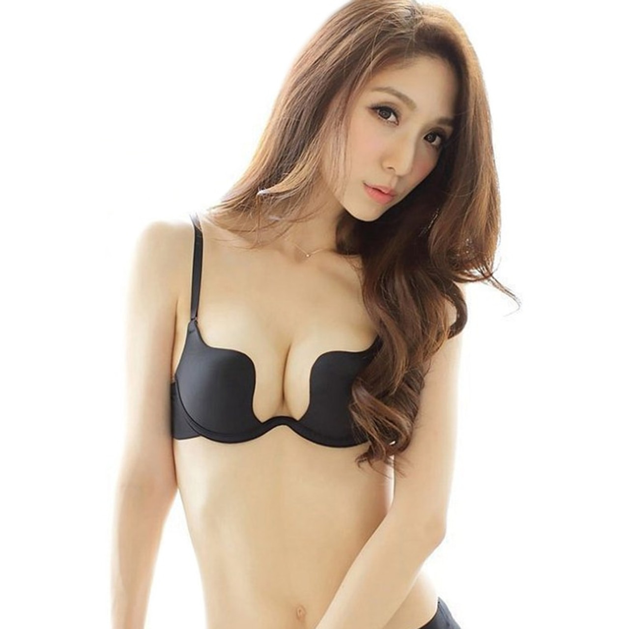61362739b3980 Women Push Up Bra For Small Breast Women Double Push Up Bras Size Push Up  Bra Sexy Push Up Bra Silicone Underwear Gather Drop - OnshopDeals.Com