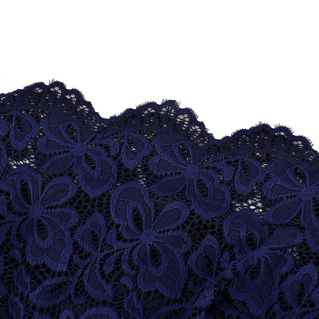 ... Cheap Navy Blue Cocktail Dresses Elegant Short Little Black Dress Lace  Off shoulder Formal Dresses Short ... 291bf3e01c11