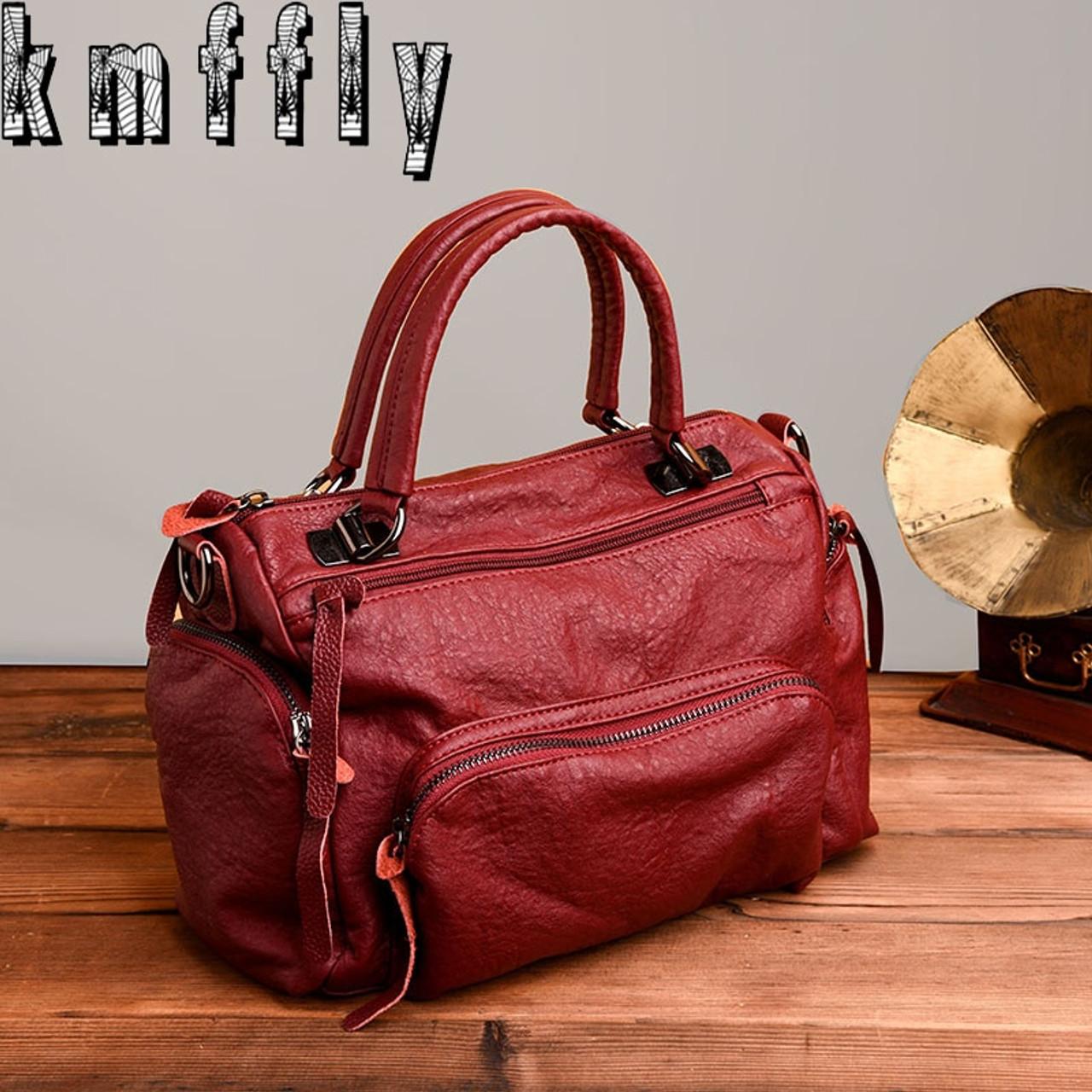 a960bd686da1 KMFFLY 2018 Fashion Women Bag Luxury Brand PU Leather Women Messenger Bags  Ladies Handbags Woman Leather Handbags Sacs - OnshopDeals.Com