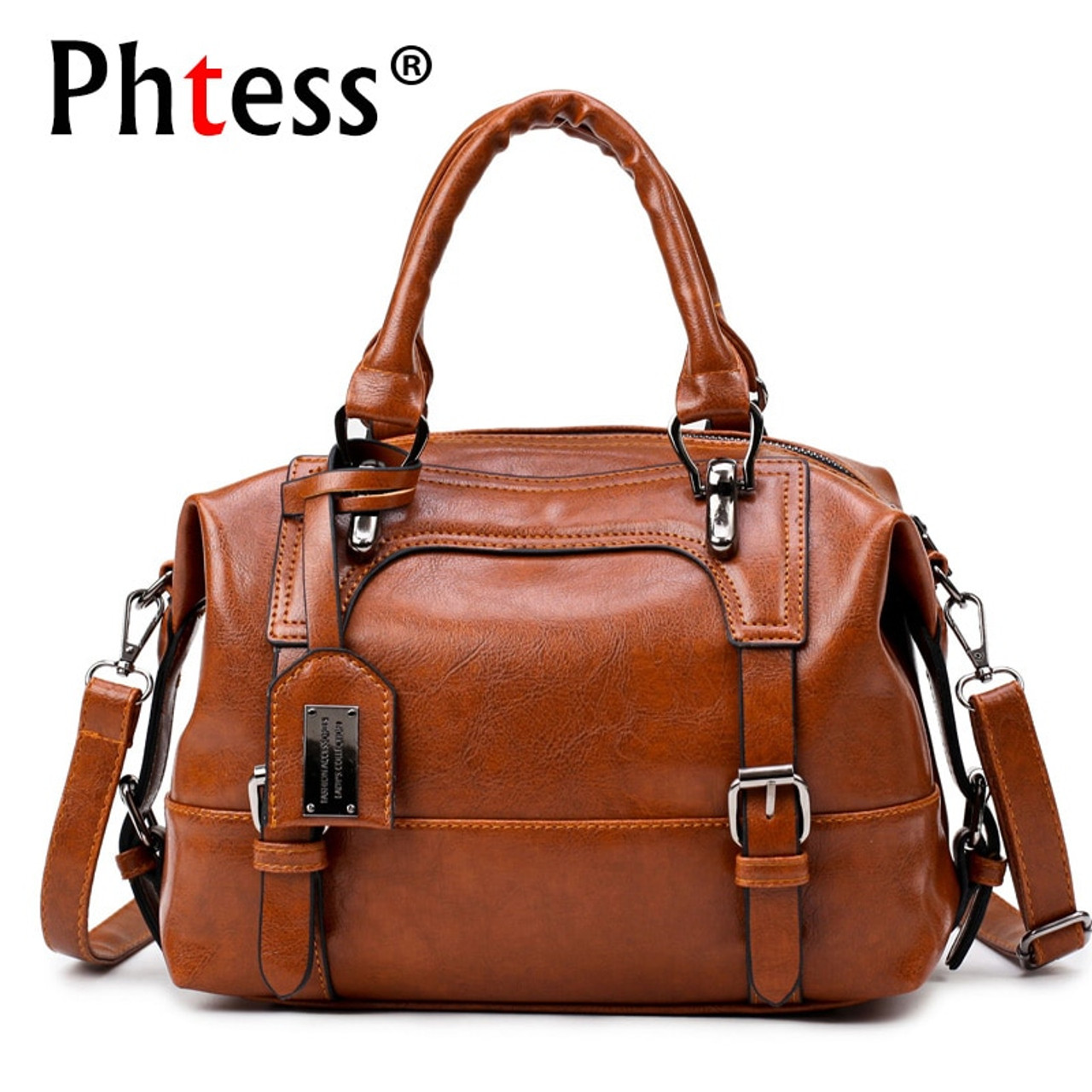 Boston Luxury Leather Handbags Women Bags Designer High Quality Famous  Brands Shoulder Bags Sac a Main ... c382ef9eb3794