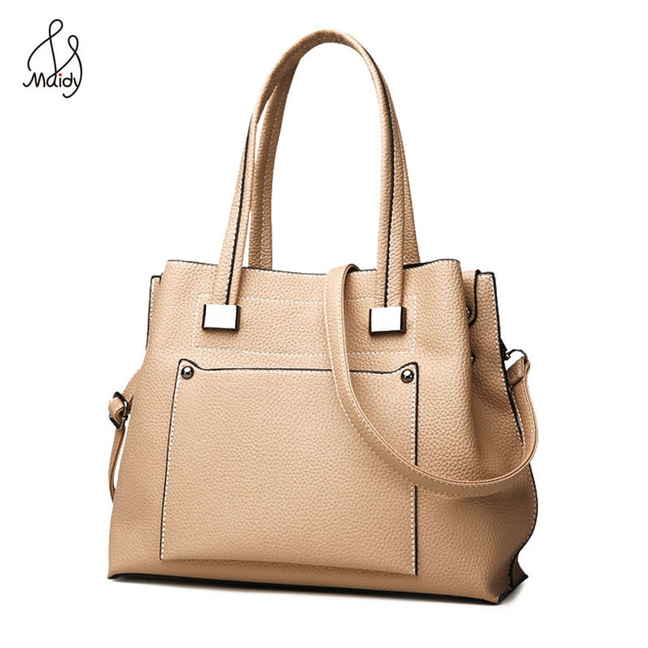 9b3aa4f3934 Luxury Handbags Women Bags Designer Lady Leather Large Soft Capacity Casual  Tote Shoulder Crossbody Messenger Brand Famous Maidy