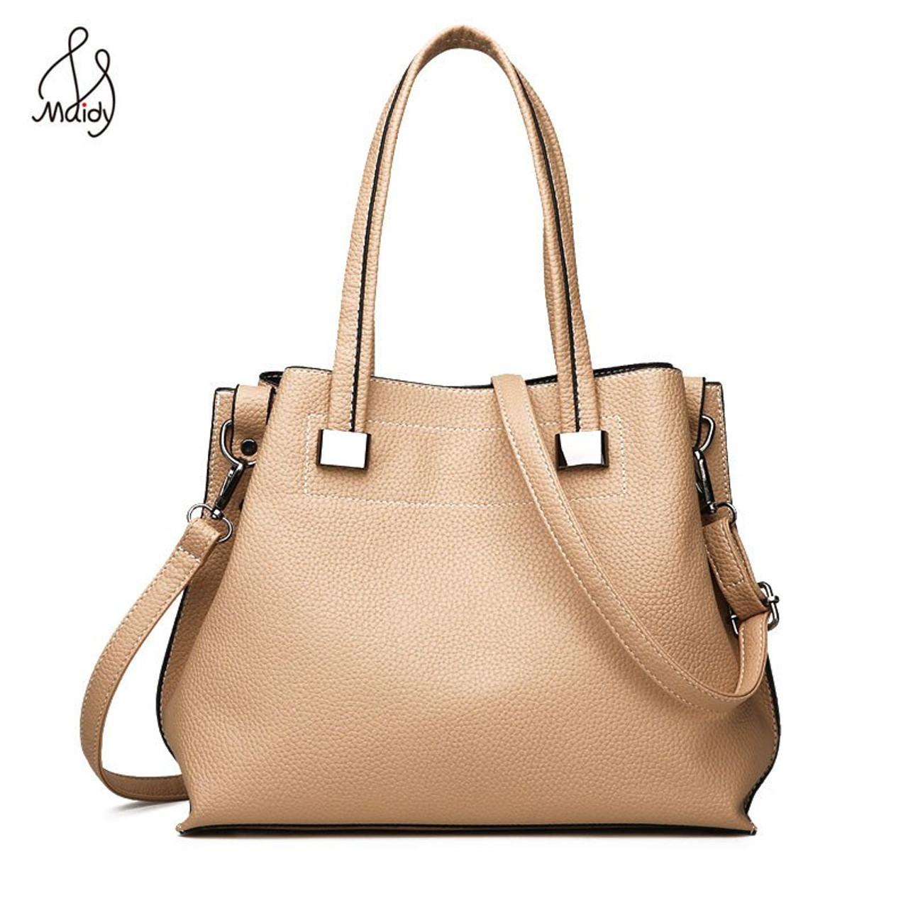 fa9f6bfc4b5d3 ... Luxury Handbags Women Bags Designer Lady Leather Large Soft Capacity  Casual Tote Shoulder Crossbody Messenger Brand ...
