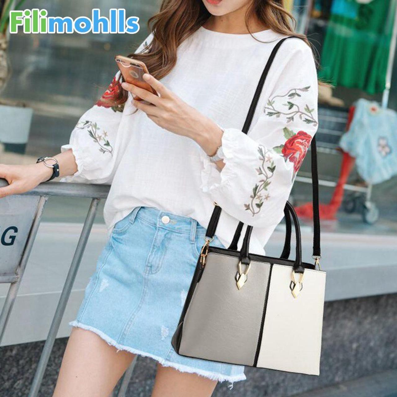 0450e3cc6fa Luxury Handbags Women Bags Designer Leather Bags For Women 2018 Fashion  Ladies Handbag New Arrivals Shoulder Hand Bag S1509