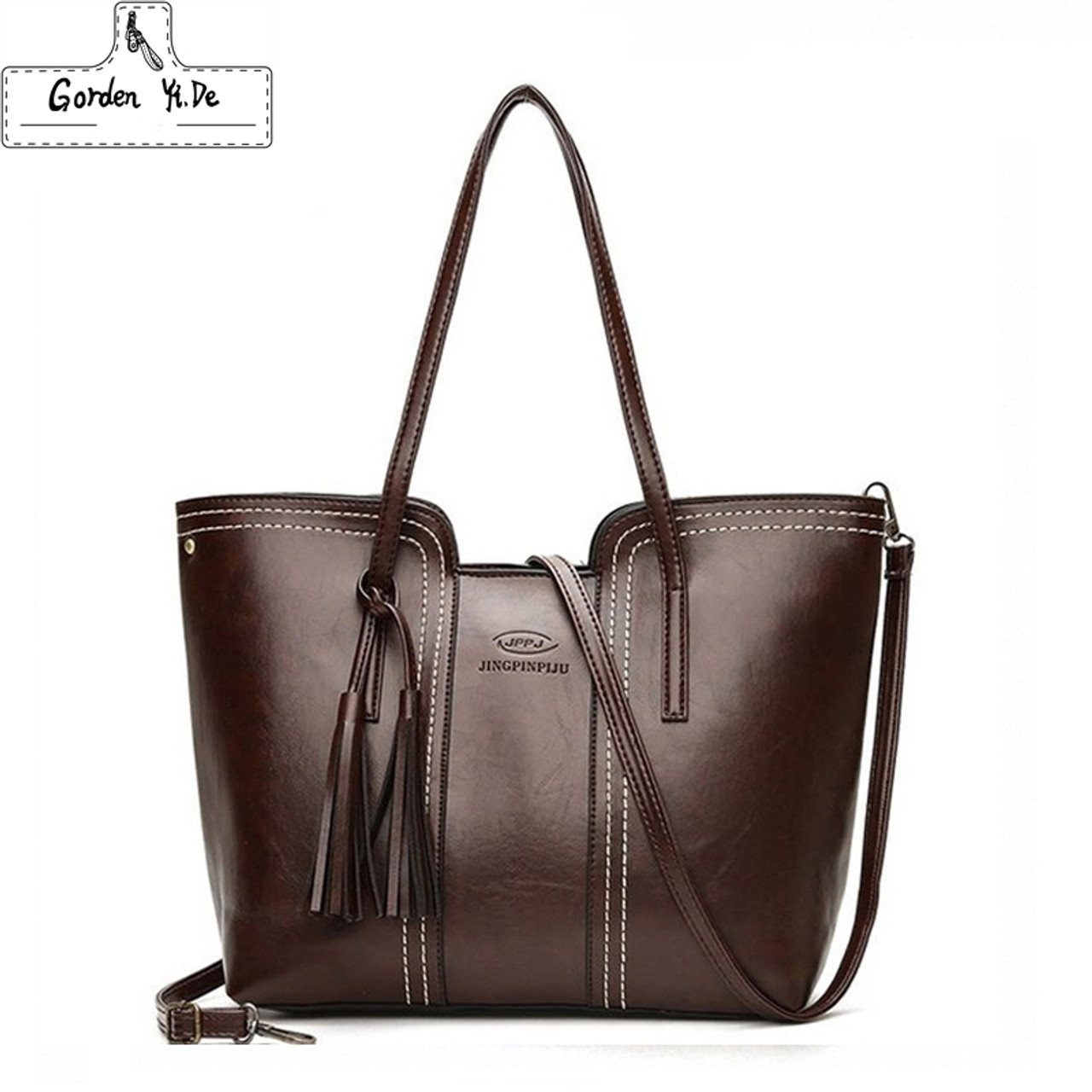 Women's Bags Top-handle Bags Capable Messenger Bags Large Capacity Women Shoulder Bags Female Trunk Tote Bolsos Famous Designers Leather Handbags
