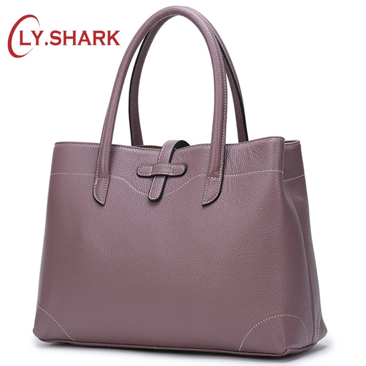 34904cb75fe90 SHARK Luxury Handbags Women Bags Designer Genuine Leather Bags For Women  Hand bag Female Top-Handle Bag Ladies Tote 2019 - OnshopDeals.Com