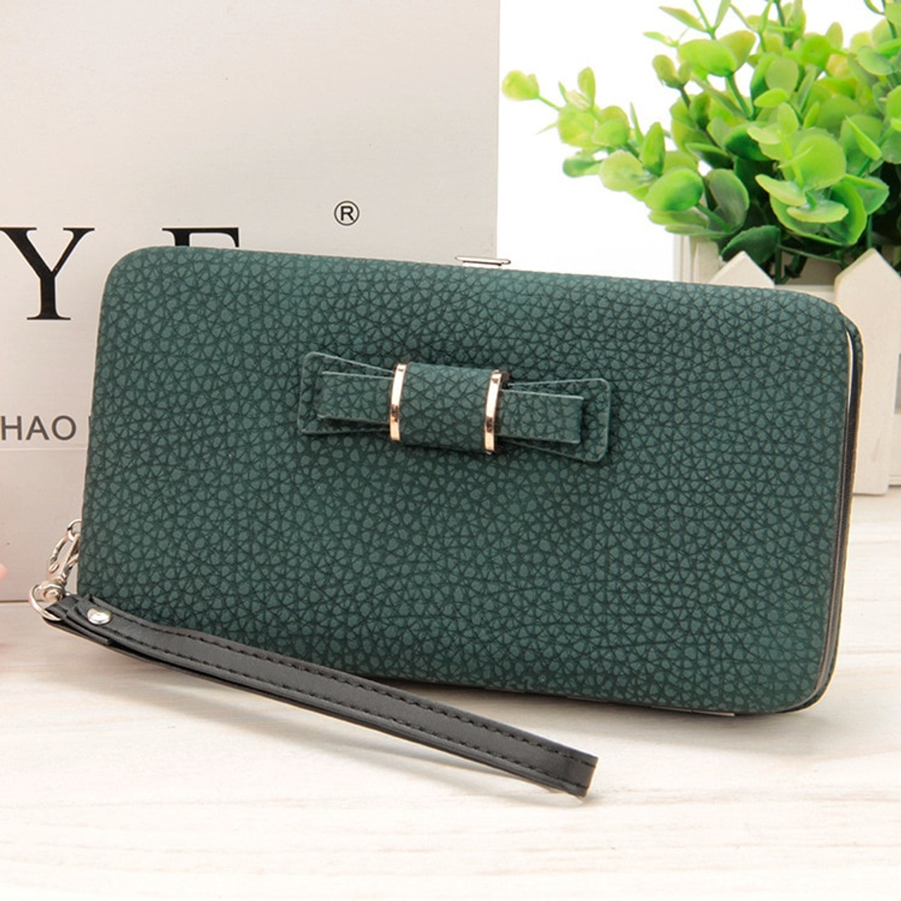 42ee98bbe3 ... Fashion Female wallets High-quality PU Leather Wallet Women Long Big  Capacity Clutch Card Holder ...