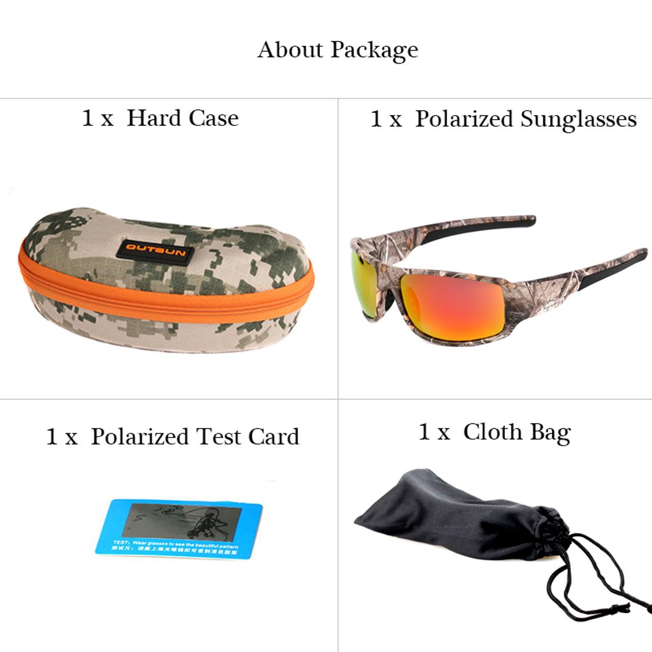 7d8a4849872 ... OUTSUN 2017 Polarized Sunglasses Men Women Sport fishing Driving Sun  glasses Brand Designer Camouflage Frame De ...