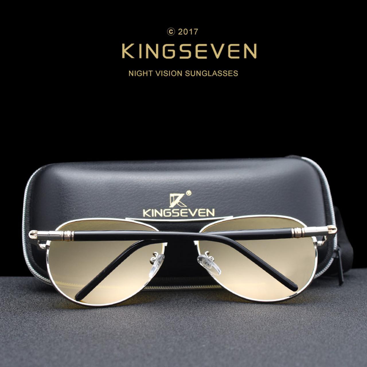 fbcdfb6342a ... 2017 Mens Polarized Night Driving Sunglasses Men Brand Designer Yellow  Lens Night Vision Driving Glasses Goggles ...