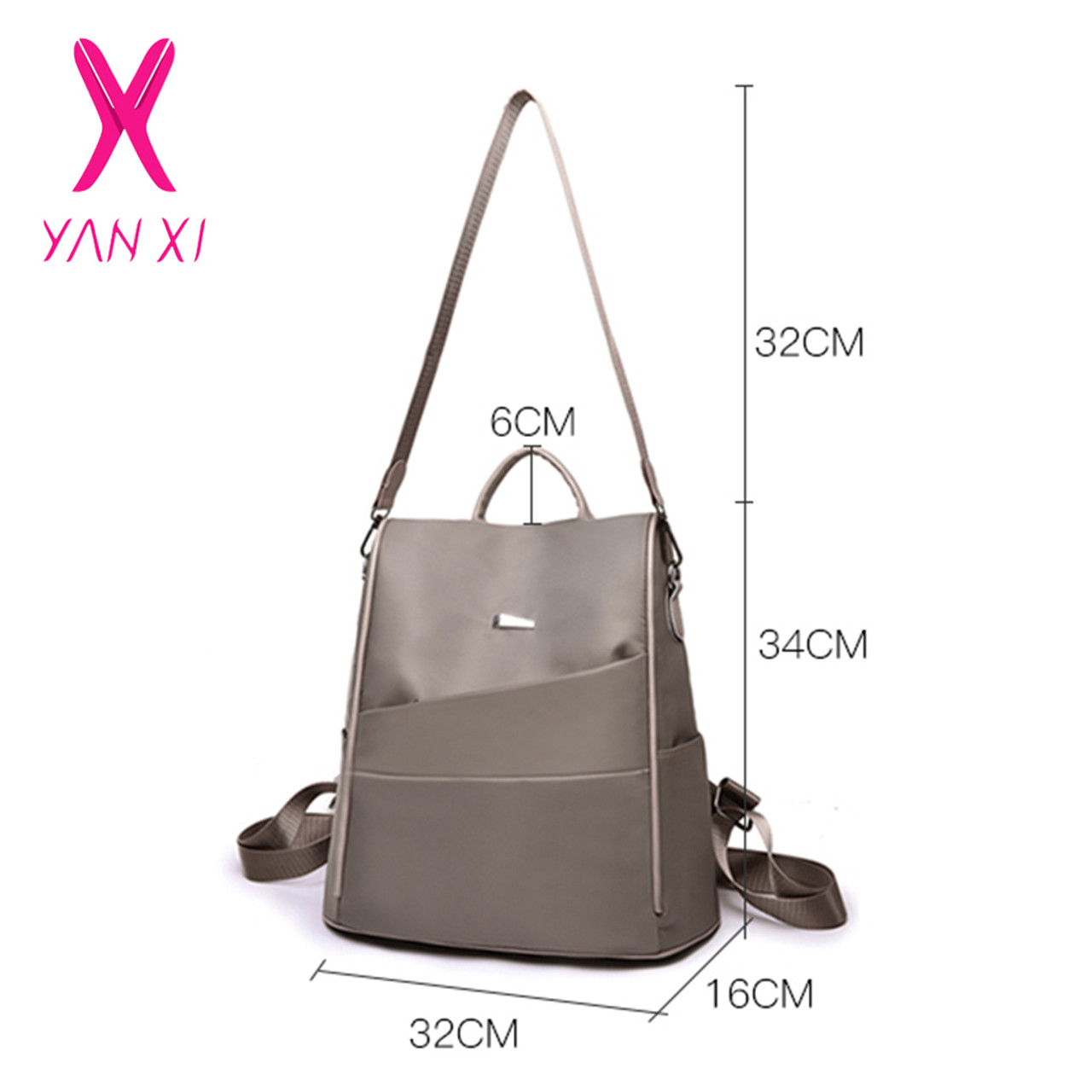 ... High Quality Oxford Cloth Women Backpack Zipper School Bags for Teenagers  Girls Small Backpack Female Rucksack ... 5457269f8e21c