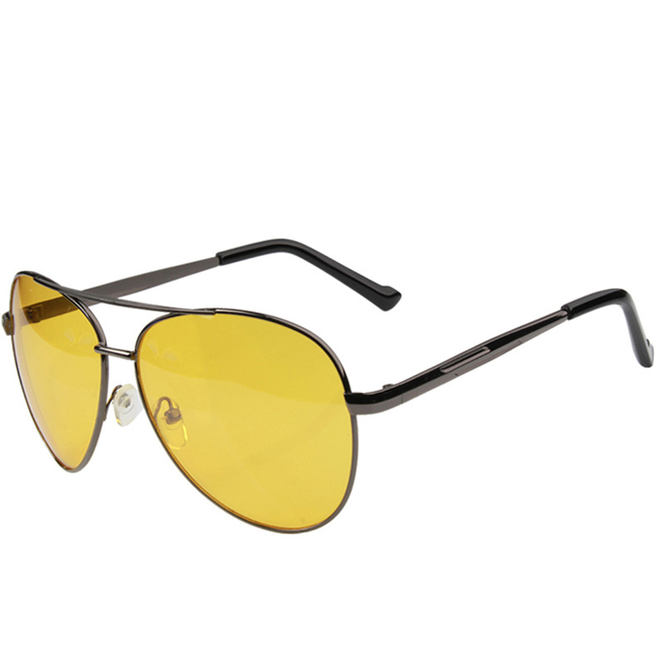 d9c9067a99 ... Pro Acme Aviation Night Vision glasses Driving Yellow Lens Classic Anti  Glare Vision Driver Safety glasses ...