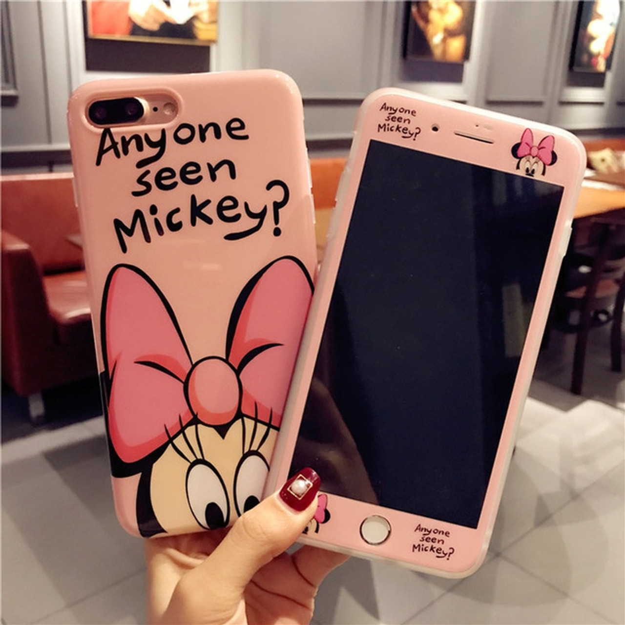coque minnie et mickey iphone 6
