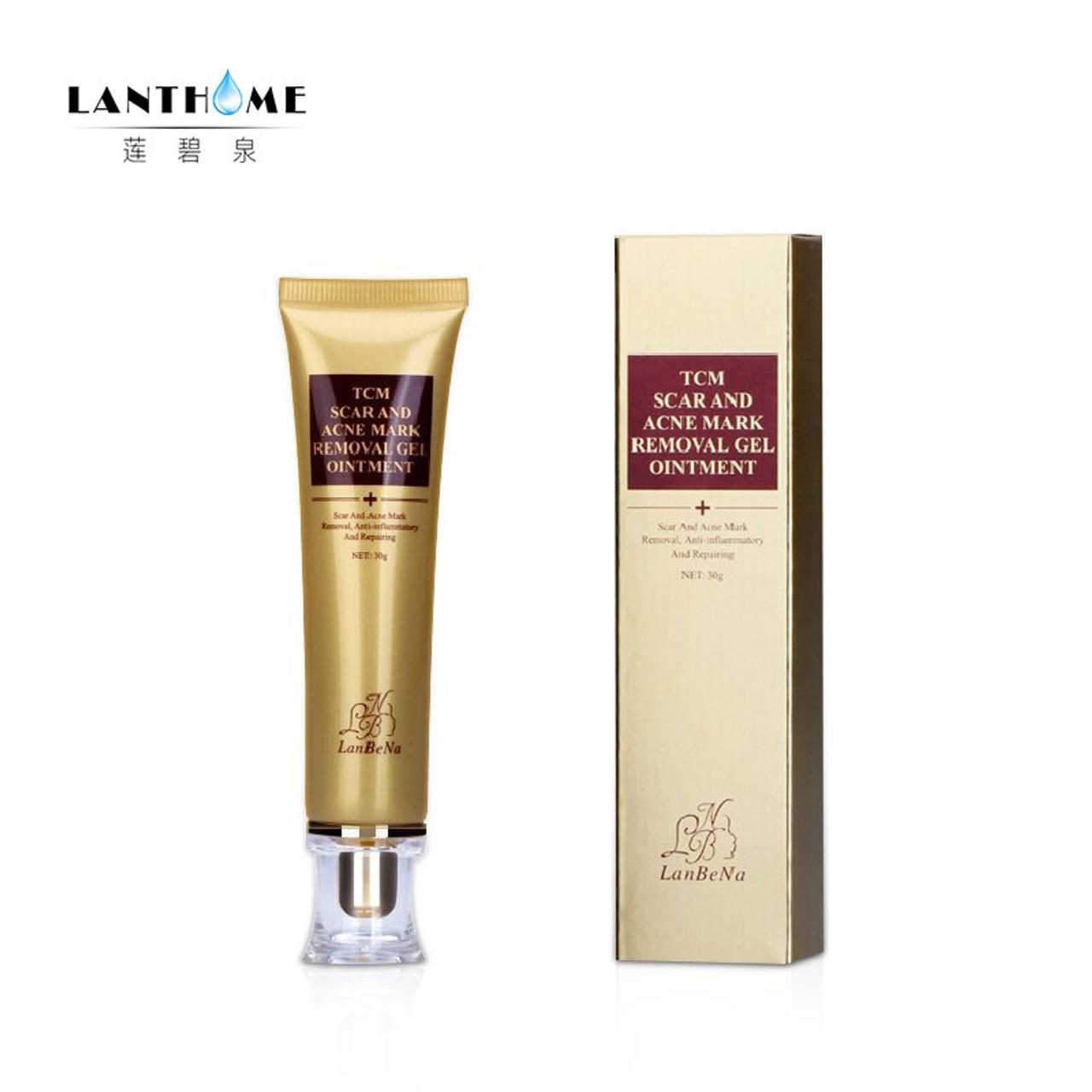 LANBENA 2PCS Acne Scar Removal Serum Cream Stretch Marks Remover Anti Acne  Treatment Moisturizing and Nourishing Ginseng Essence