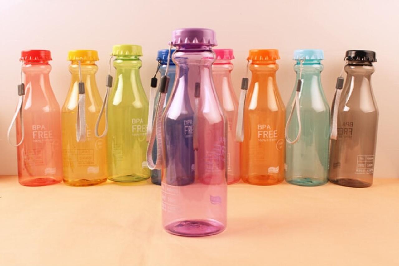 1pc 550ml Korean Water Bottle Bpa Free Unbreakable Water Bottles