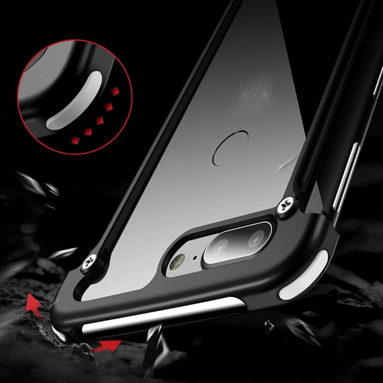 for Nubia Z17 case Aluminum metal bumper case for ZTE nubia Z17 lite cases