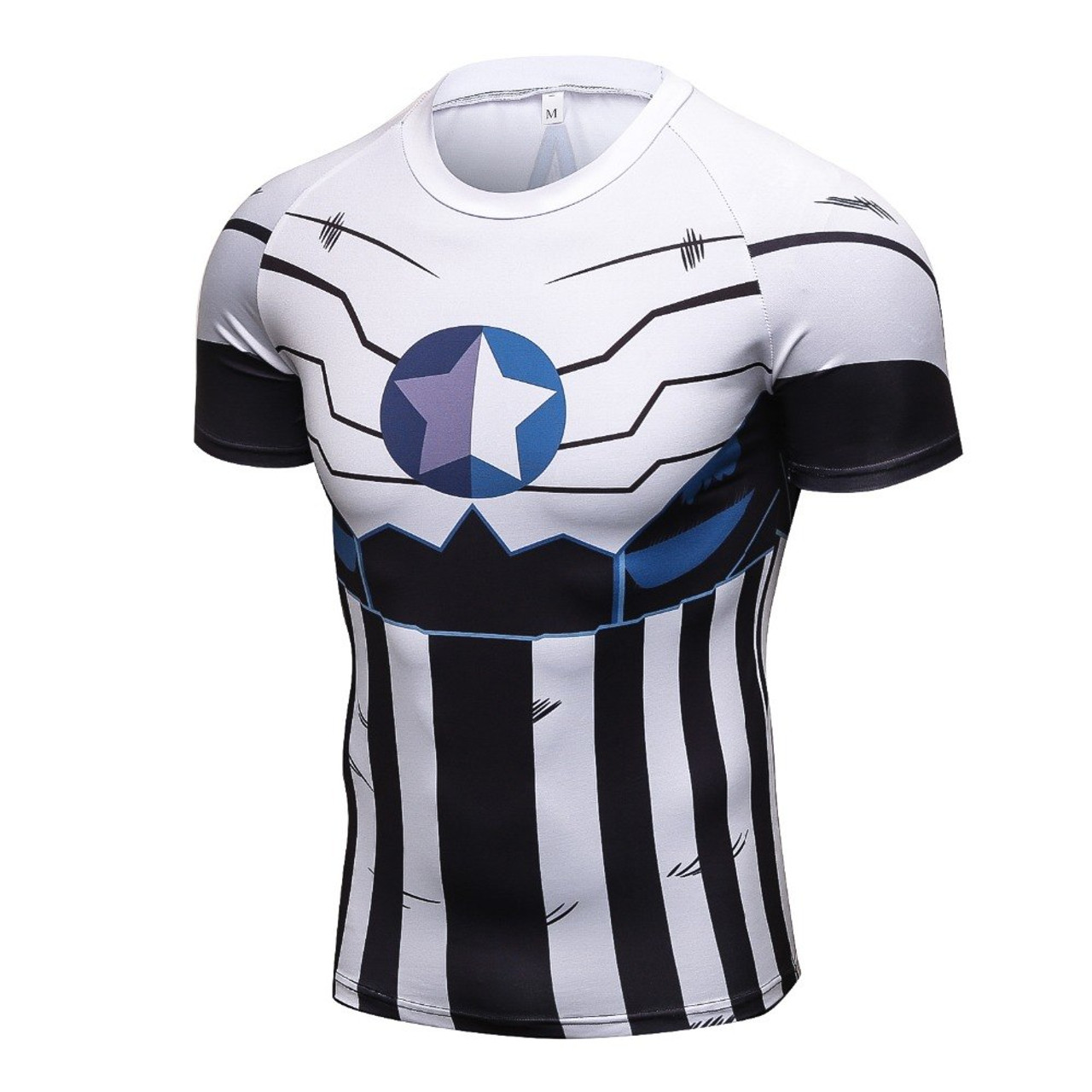 07484bb68 2017 new Compression Shirt Anime Superhero Punisher Captain America  Superman 3D T Shirt Fitness Tights Base Layer T Shirts - OnshopDeals.Com