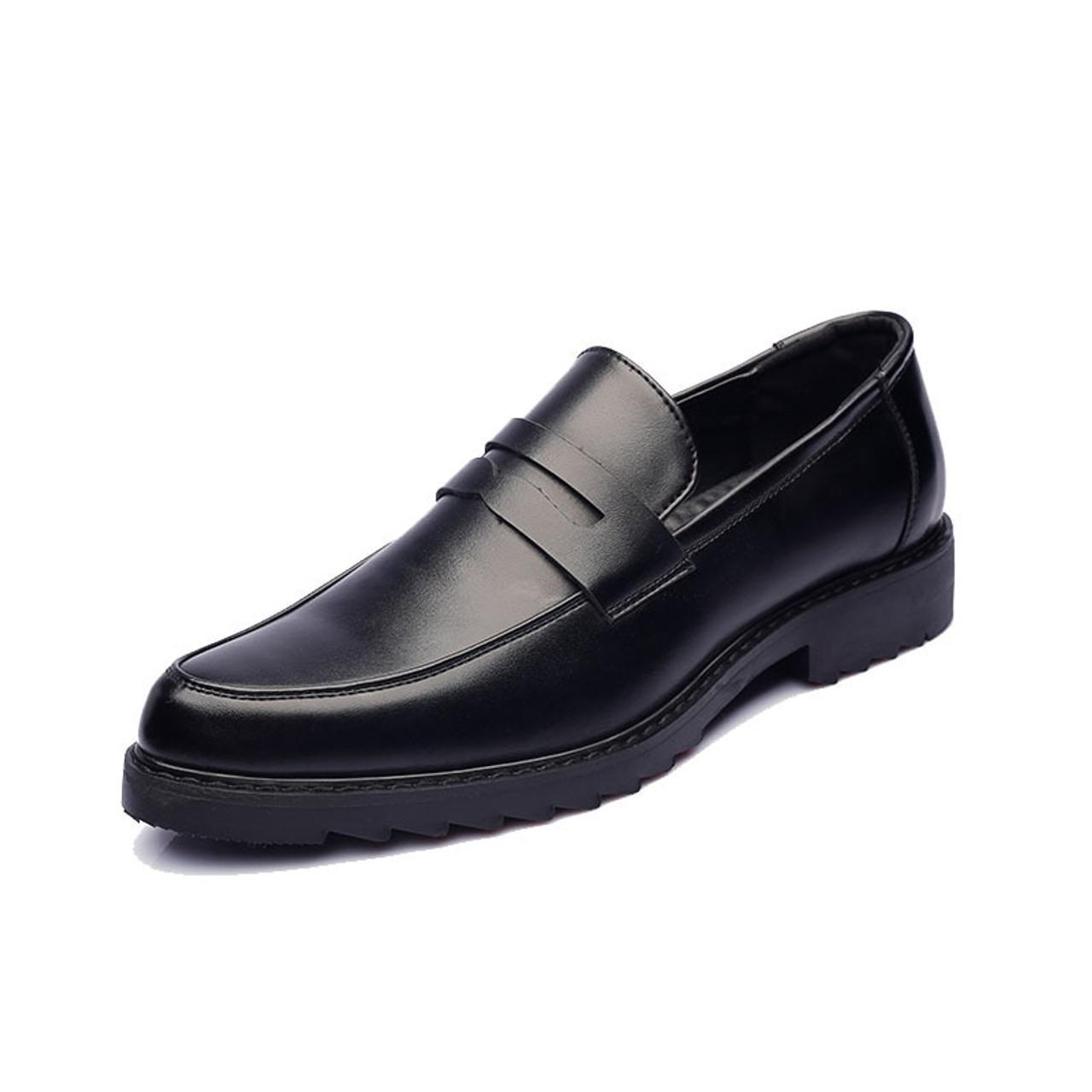 137c841d6ed3 ... office patent leather shoes men brand business platform shoes oxford shoes  for men formal wedding dress