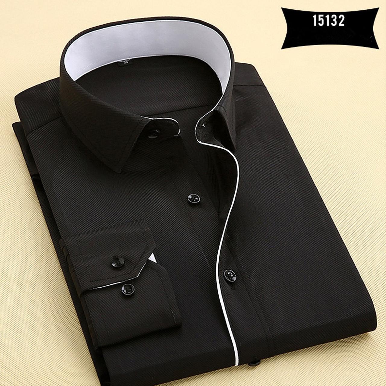 Mens New Recreational Button Long Sleeve Shirt Long Sleeve Top