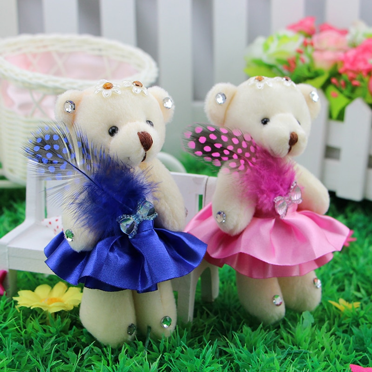 New Fashion 12pcs Lovely Teddy Bear Plush Toys Small Doll Bears For Wedding Cartoon Flower Bouquet Christmas Promotion Gifts Onshopdeals Com Fan page of teddy bears gallery website! new fashion 12pcs lovely teddy bear plush toys small doll bears for wedding cartoon flower bouquet christmas promotion gifts