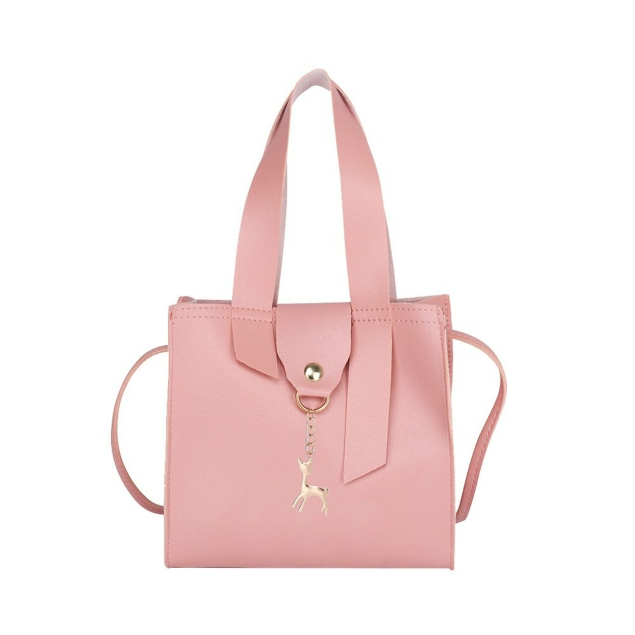 8470ac74f00 2019 Women Casual Shoulder Handbags PU Leather Girls Star Crossbody  Messenger Bags Ladies Fashion Large Capacity Handbag New