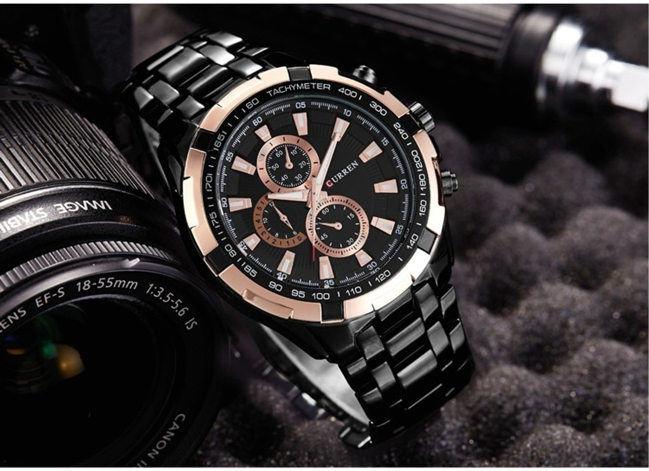 166416205befba ... New SALE CURREN Watches Men quartz Top Brand Analog Military male  Watches Men Sports army Watch ...
