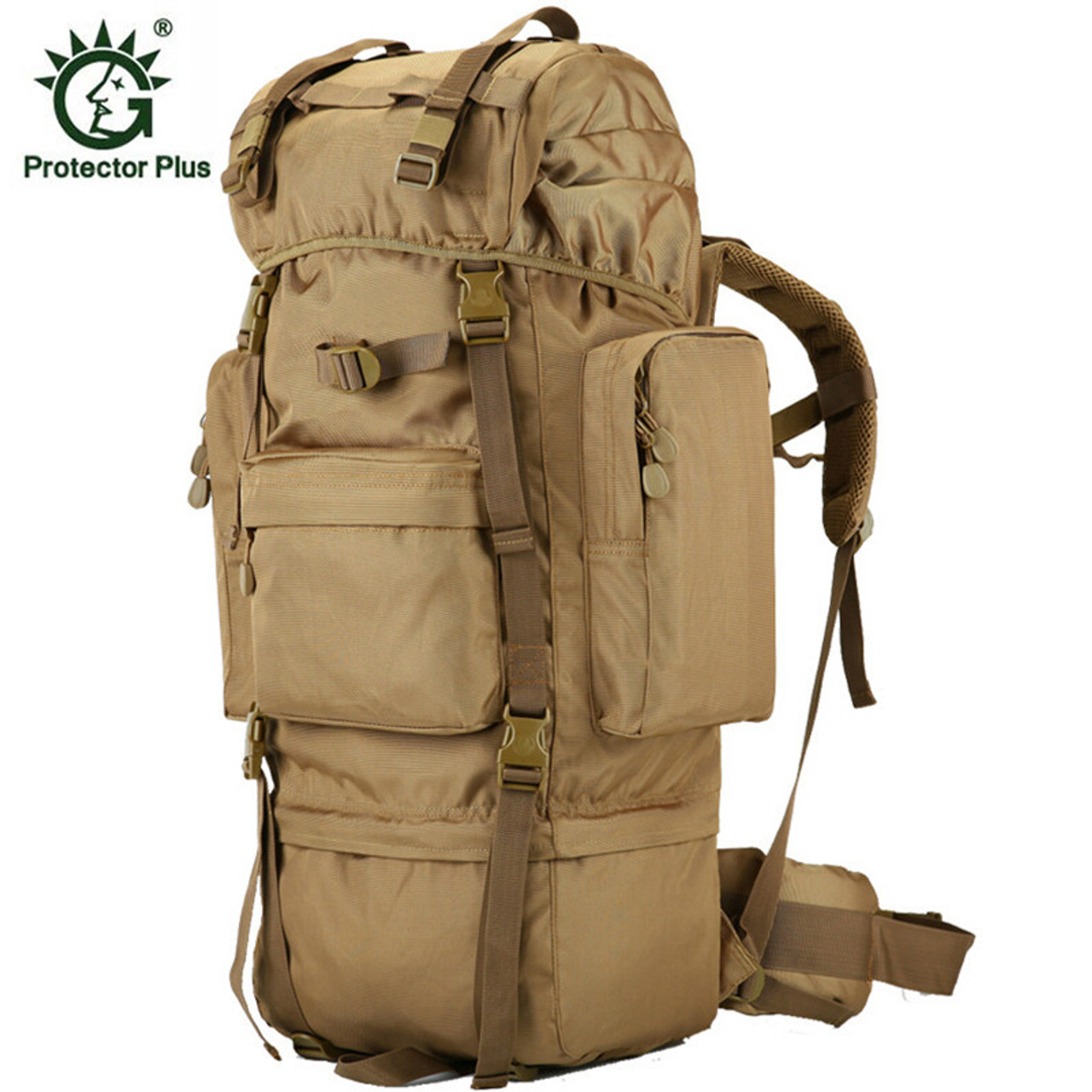 8a8fc8e5ab25 70 L Metal Bracket Backpack Outdoor Sports Bag Military Tactical Bags Hiking  Camping Waterproof Wear-resisting Nylon Bag D033 - OnshopDeals.Com