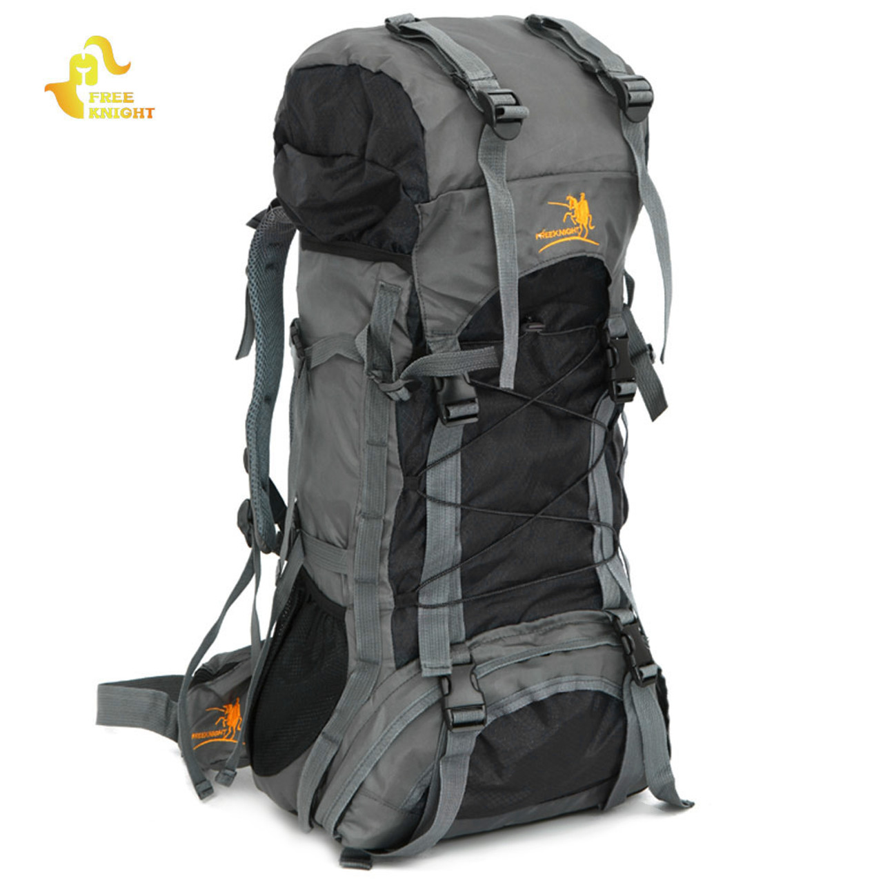 55be6bae2027 Free Knight Extra Large 60L Nylon Waterproof Mountaineering Backpack  Outdoor Sport Climbing Hiking Traveling Picnic Bag Rucksack -  OnshopDeals.Com
