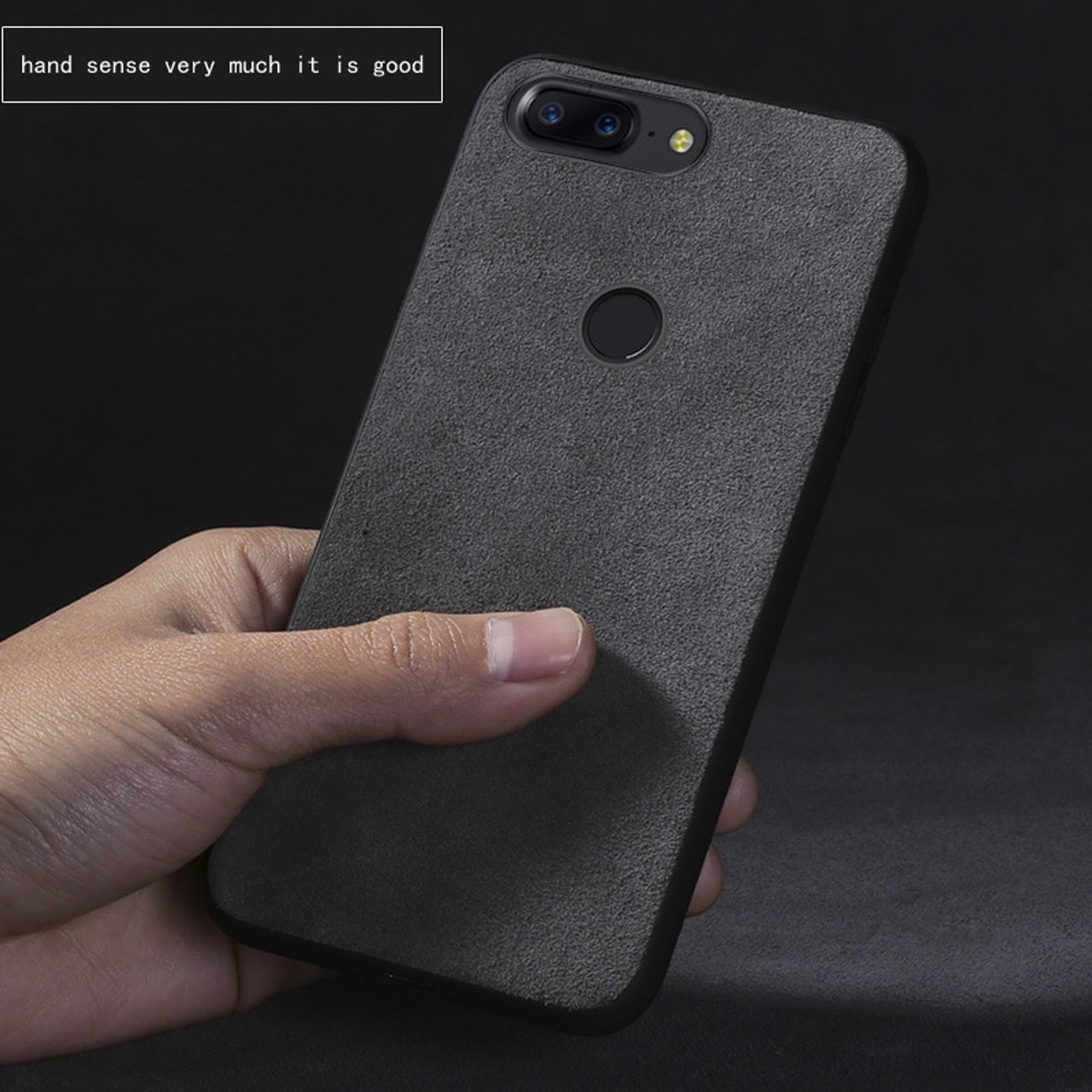 buy popular 7023b 0a16d Phone case For Oneplus 5T 5 6 cases Suede leather Ultra slim all inclusive  back cover Anti-fall Comfortable feel