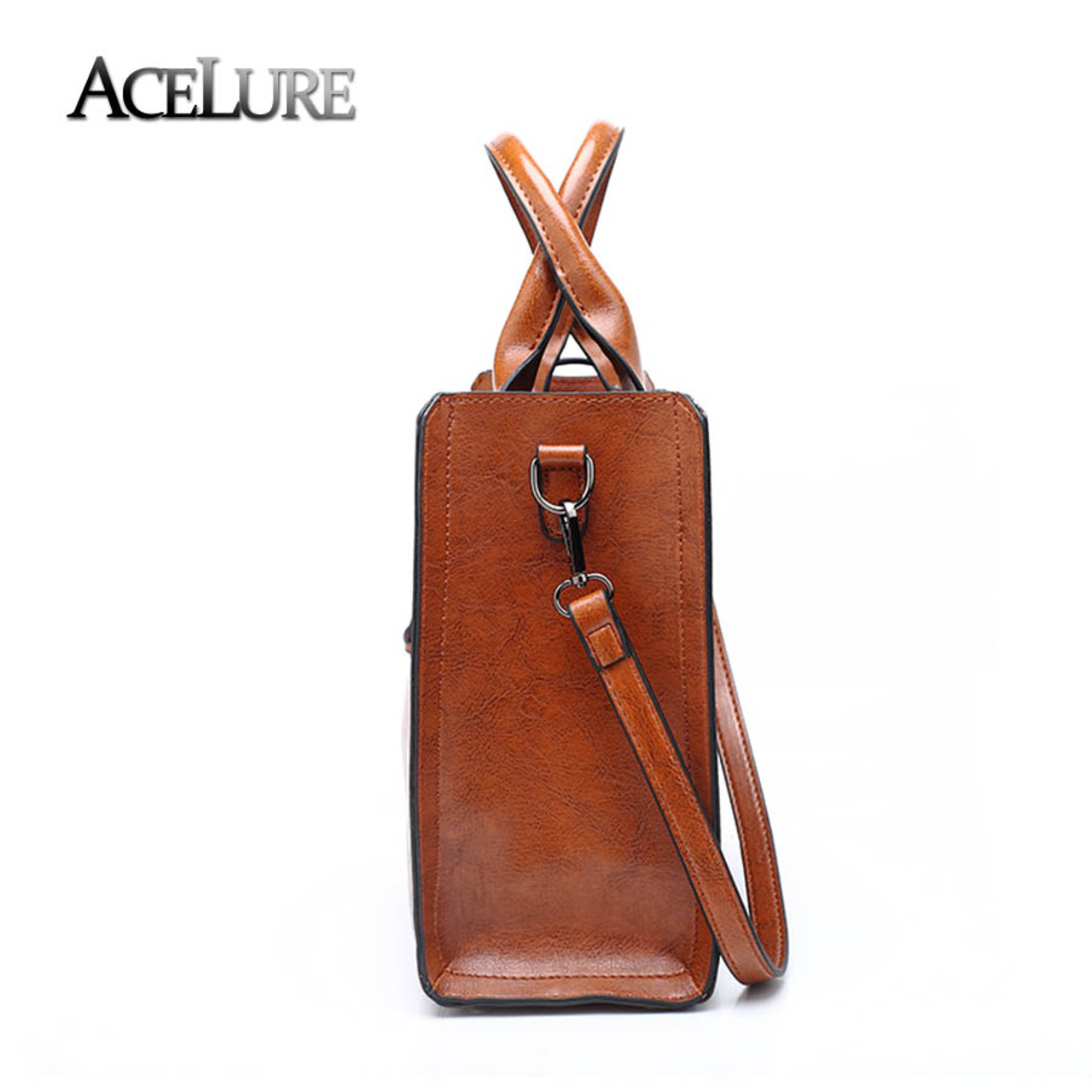 3c10122bc0cd ... Casual Female Bags Trunk Tote Spanish Brand Shoulder · ACELURE Leather  Handbags Big Women Bag High Quality · ACELURE Leather Handbags Big Women  Bag High ...