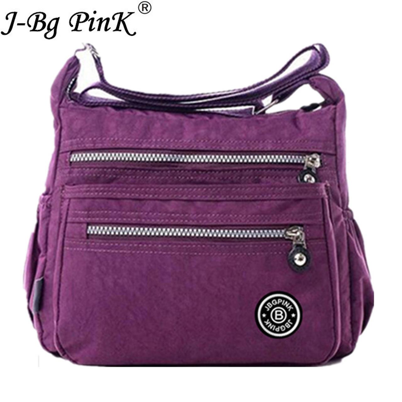 J-BG PinK Women Messenger Bags Nylon Canta Shoulder Bags Handbags Famous  Brands Designer Crossbody ... 0e31753d348cf
