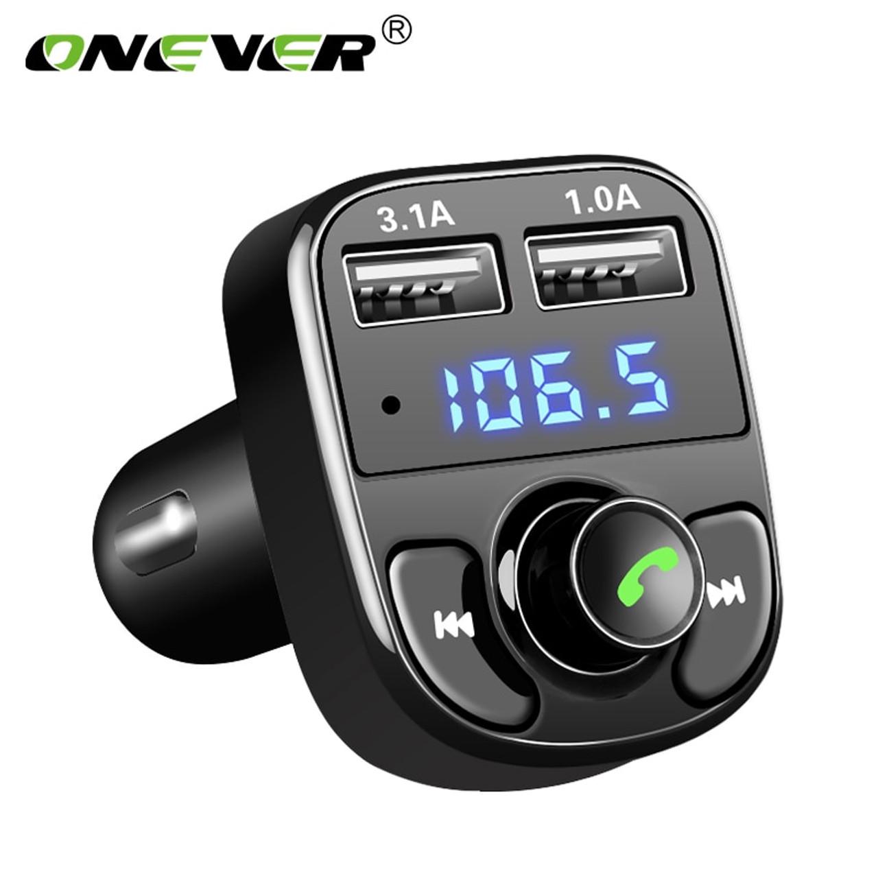 360° Wireless Bluetooth Handsfree C2 FM Transmitter Radio Adapter MP3 Player A1