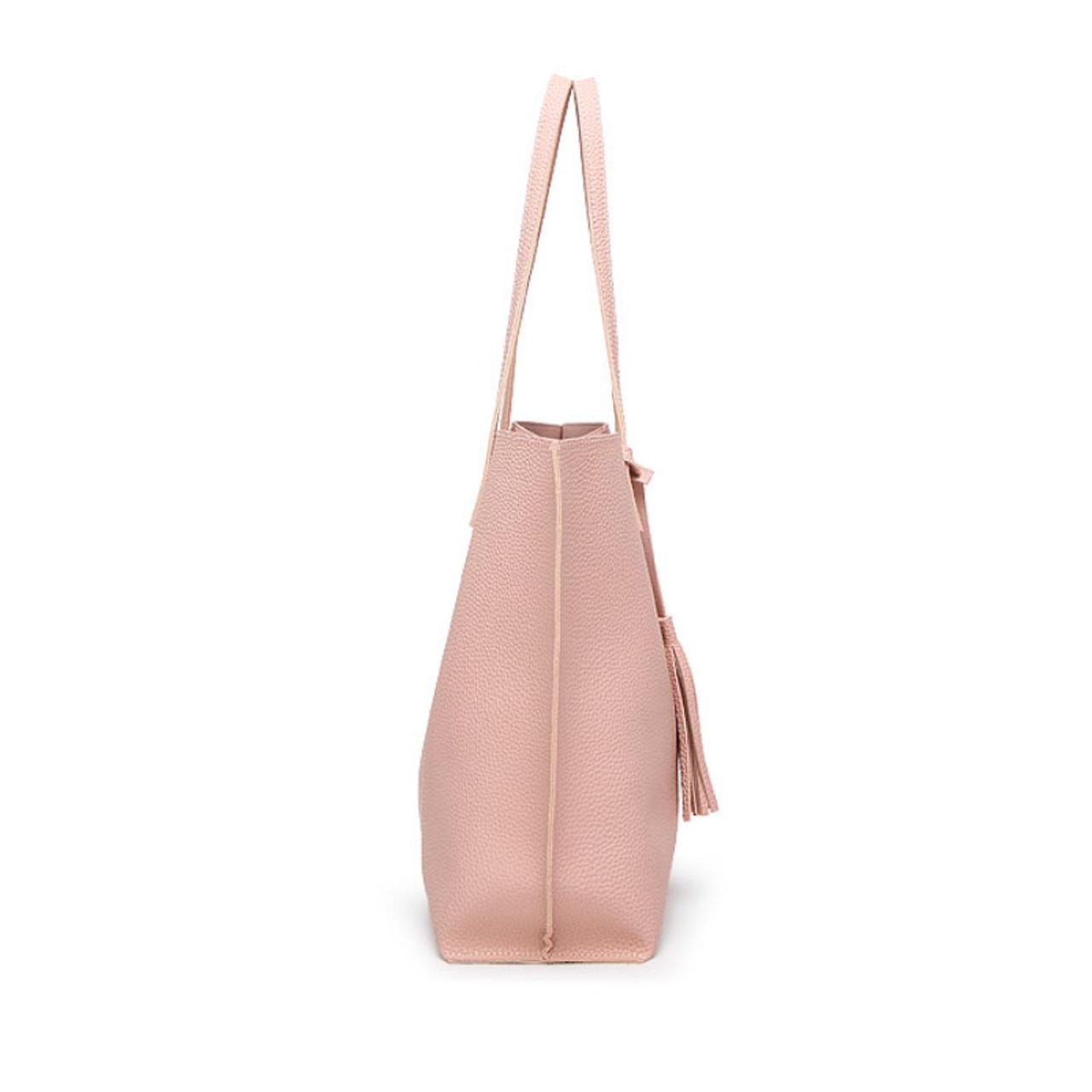 5aff035f4314 Ankareeda Luxury Brand Women Shoulder Bag Soft Leather TopHandle Bags  Ladies Tassel Tote Handbag High Quality Women's Handbags