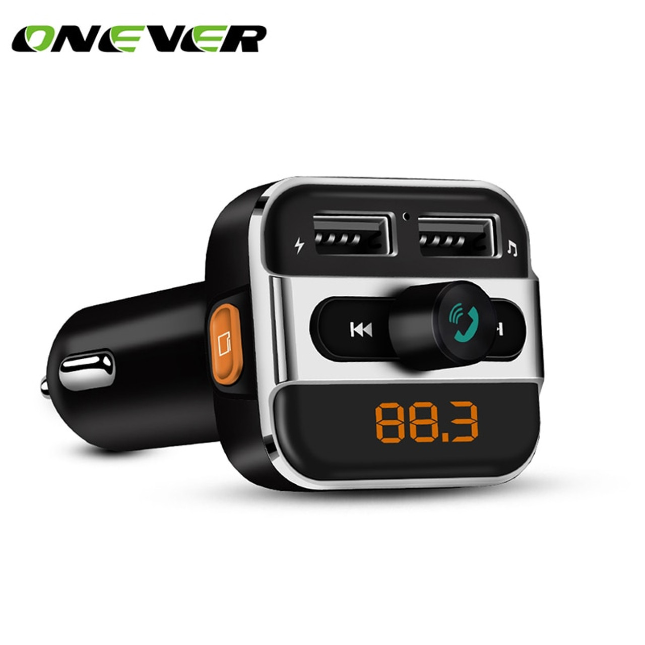 Bluetooth Car USB Charger FM Transmitter Radio Adapter MP3 Player Quick Charge K