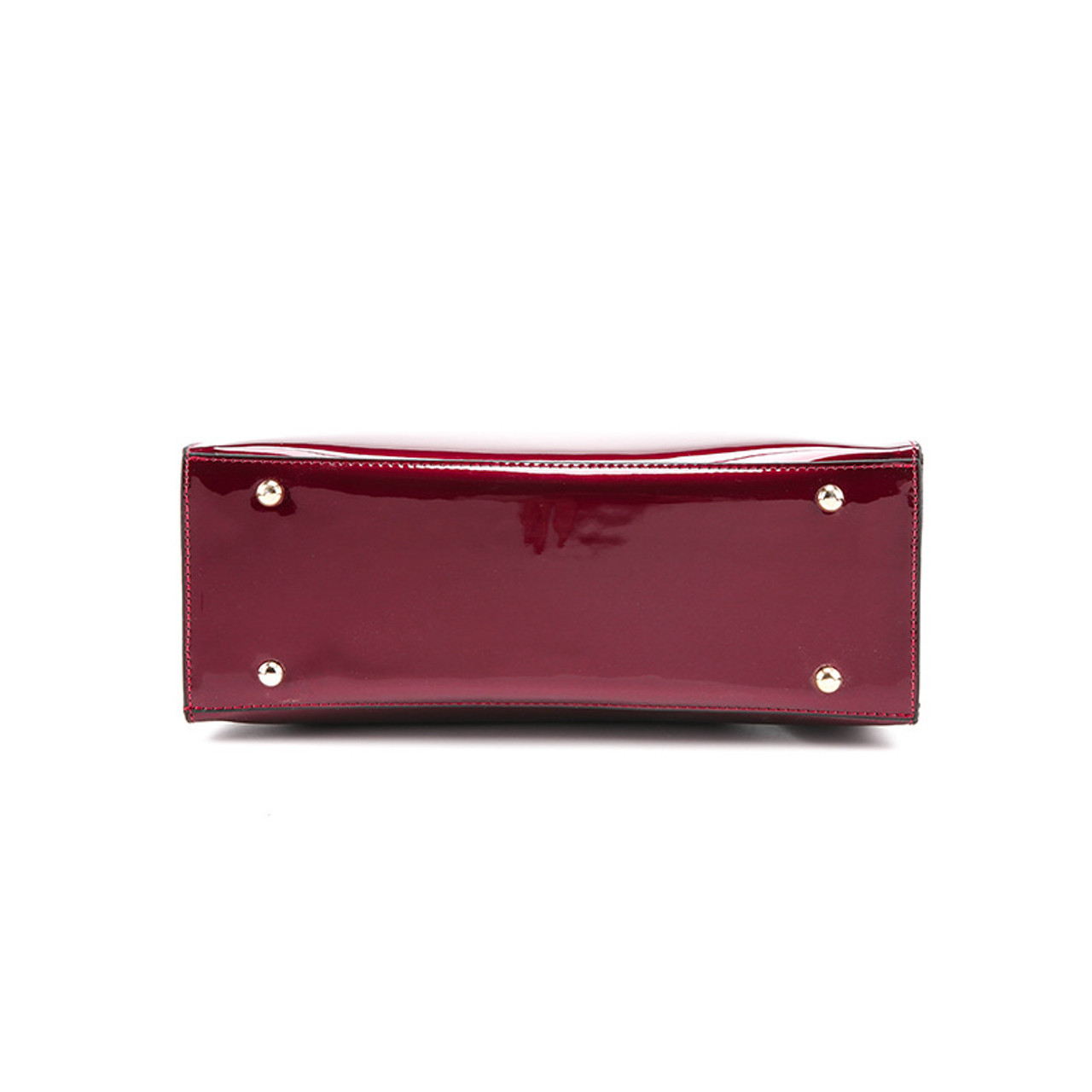 ... Bonsacchic Red Patent Leather Tote Bag Handbags Women Famous Brands  Lady s Lacquered Bag Red Handbag for ... 90f0480594