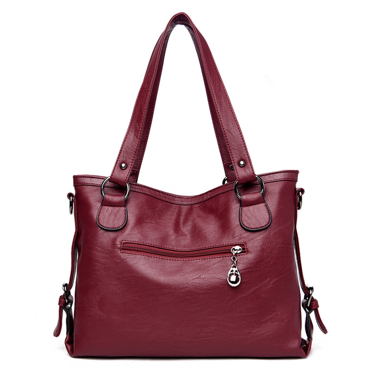 ... New 2017 Fashion PU Leather Women Messenger Bags Ladies Big Casual  Shoulder Bags Brand Woman Handbags ... 4e71c2d094