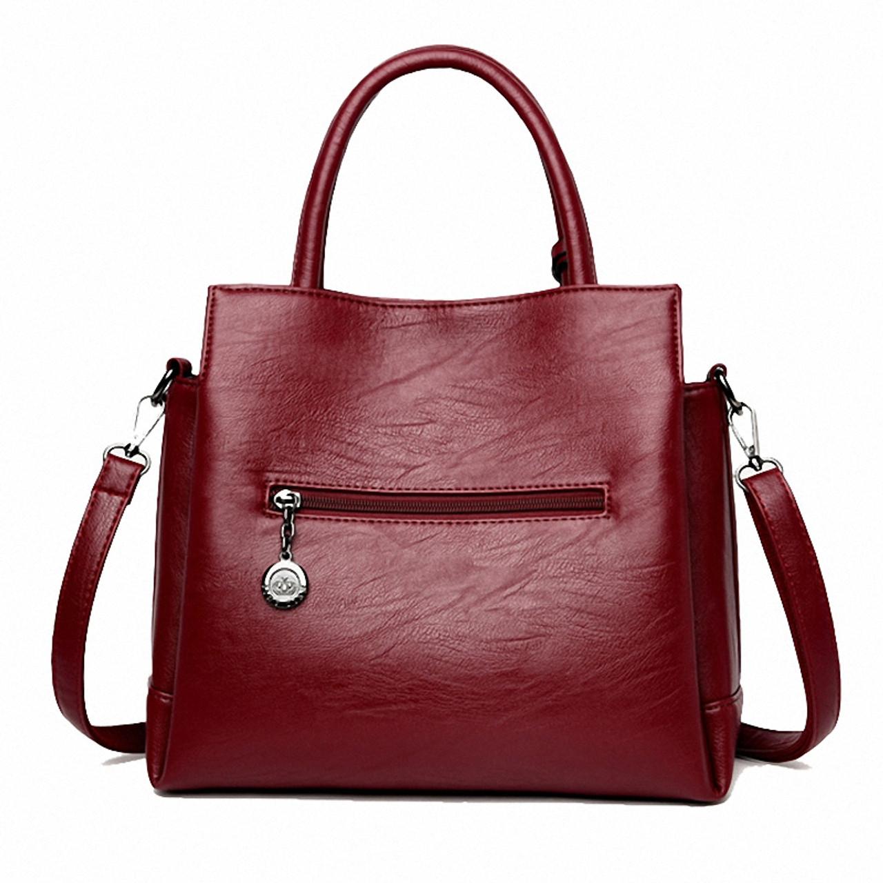 5a6a02a860 ... YASICAIDI Fashion Pu Leather Women Shoulder Bags Famous Designer  Vintage Tassel Large Women Messenger Bags Ladies ...